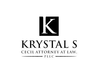Krystal S. Cecil Attorney at Law, PLLC logo design by cimot