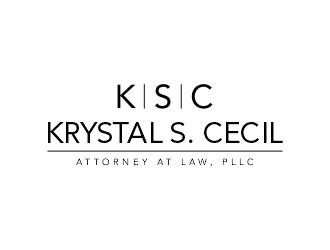 Krystal S. Cecil Attorney at Law, PLLC logo design by ellsa