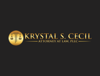 Krystal S. Cecil Attorney at Law, PLLC logo design by luckyprasetyo