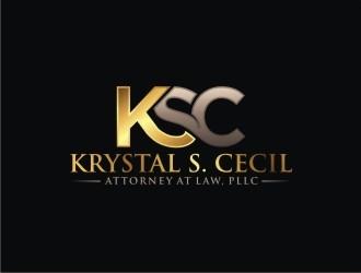 Krystal S. Cecil Attorney at Law, PLLC logo design by agil