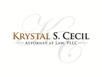 Krystal S. Cecil Attorney at Law, PLLC logo design by J0s3Ph