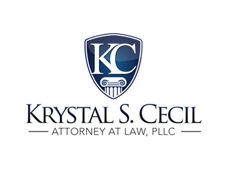Krystal S. Cecil Attorney at Law, PLLC logo design by kunejo