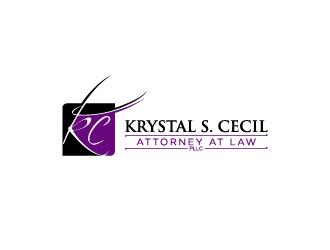 Krystal S. Cecil Attorney at Law, PLLC logo design by torresace