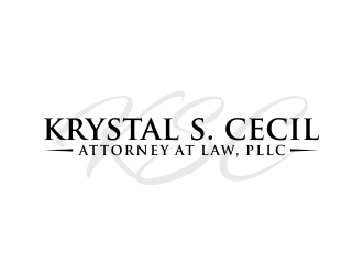 Krystal S. Cecil Attorney at Law, PLLC logo design by done