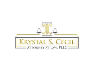 Krystal S. Cecil Attorney at Law, PLLC logo design by Purwoko21