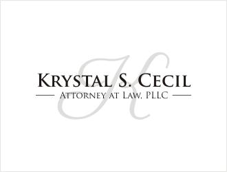 Krystal S. Cecil Attorney at Law, PLLC logo design by bunda_shaquilla