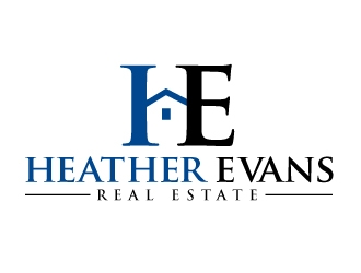 Heather Evans logo design