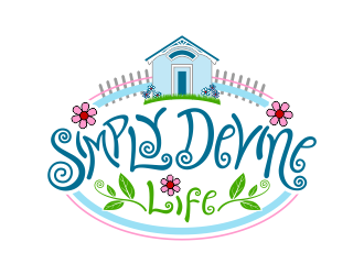 my SIMPLY DEVINE LIFE logo design