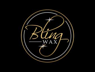 Bling Wax logo design