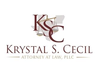 Krystal S. Cecil Attorney at Law, PLLC logo design