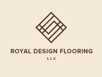 Royal Design Flooring LLC logo design by BeDesign