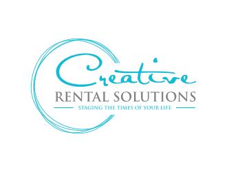 Creative Rental Solutions    logo design
