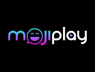 MojiPlay logo design