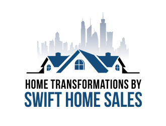 Swift Home Sales logo design