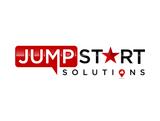 JumpStart Solutions logo design