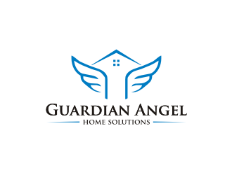 Guardian Angel Home Solutions logo design