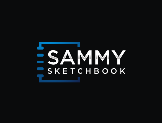 Sammy Sketchbook logo design