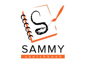 Sammy Sketchbook logo design by BeDesign
