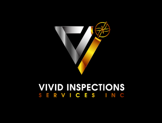 Vivid Inspections Services Inc  logo design