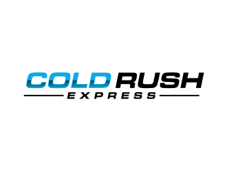 coldrush express logo design