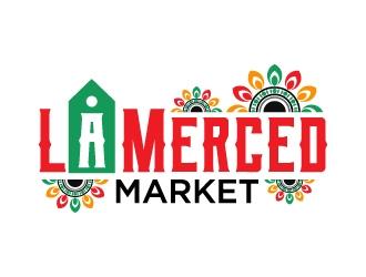La Merced Market logo design