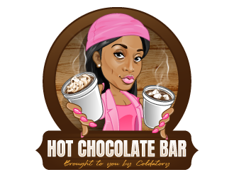 Hot chocolate bar   logo design