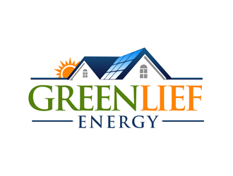 Greenlief Energy logo design