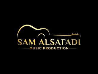 Sam Alsafadi Music Production logo design