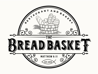 The Bread Basket logo design