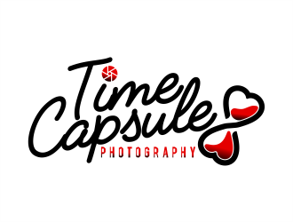 Time Capsule Photography  logo design
