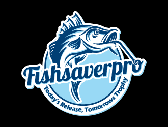 Fishsaverpro logo design