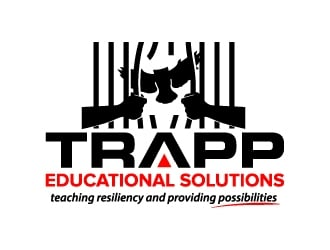 TRAPP Educational Solutions  logo design