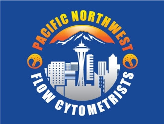 Pacific Northwest Flow Cytometrists logo design