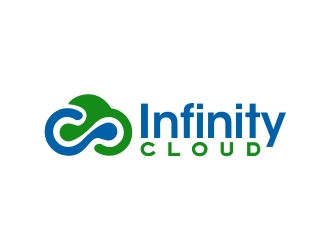 Infinity Cloud logo design