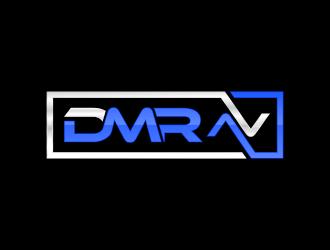 DMR AV logo design