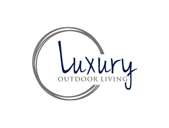 luxury outdoor living logo design winner
