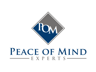 Peace of Mind Experts logo design