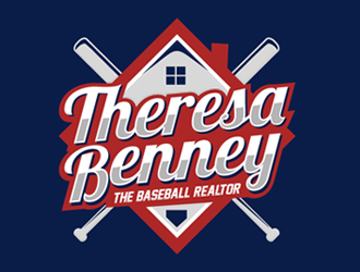 Theresa Benney - The Baseball Realtor logo design
