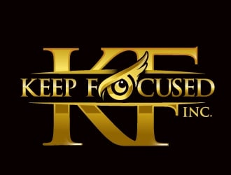 Keep Focused, Inc. logo design winner