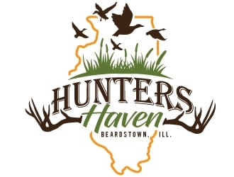 Hunters Haven logo design