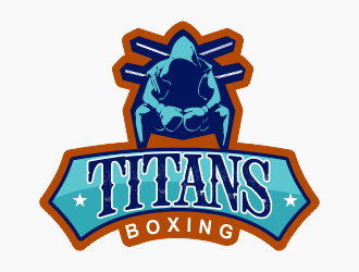 Titans boxing  logo design by MCXL