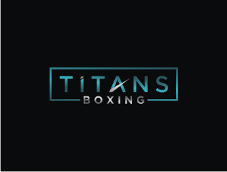 Titans boxing  logo design by bricton