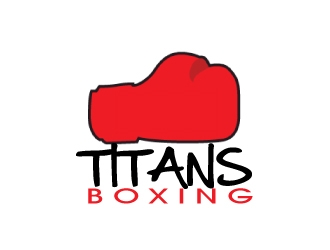 Titans boxing  logo design by AamirKhan
