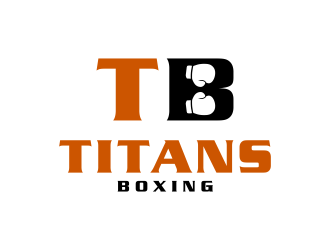 Titans boxing  logo design by ammad