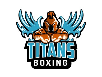 Titans boxing  logo design by rosy313
