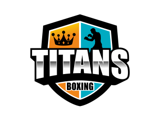 Titans boxing  logo design by Girly