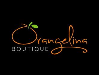 Orangelina logo design