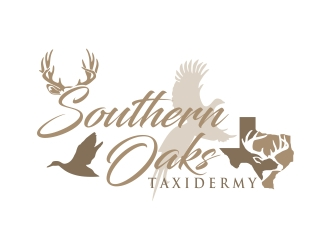 Southern Oaks Taxidermy  Logo Design