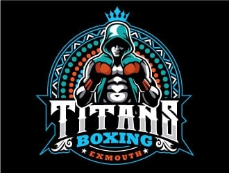 Titans boxing  Logo Design