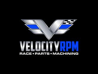 Velocity RPM logo design